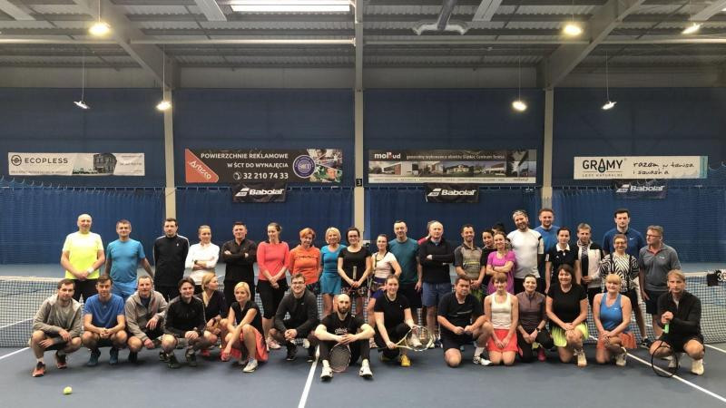 grupa tenisistow